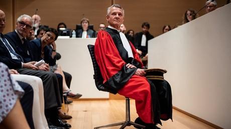 Le nouveau procureur du parquet national antiterroriste Jean-François Ricard, lors de son installation le 3 juillet 2019.
