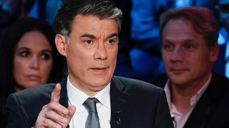 Le premier secrétaire du Parti socialiste, Olivier Faure, lors d'un débat sur CNews, le 10 avril 2019, à Boulogne-Billancourt, en France (image d'illustration).