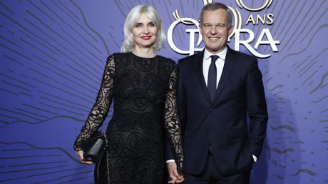 François et Séverine de Rugy lors d'un gala à l'Opera de Paris, le 8 mai 2019 (image d'illustration).