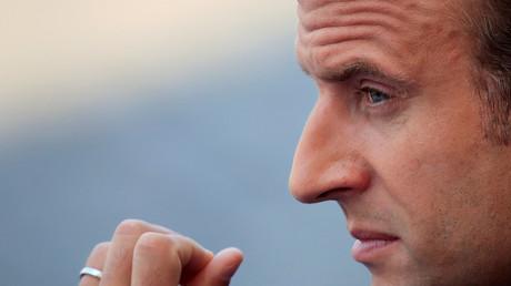 Emmanuel Macron le 14 juillet 2018 à Paris (image d'illustration).