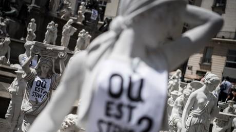 Affiche «Où est Steve», aperçue dans le centre ville de Nantes (image d'illustration).