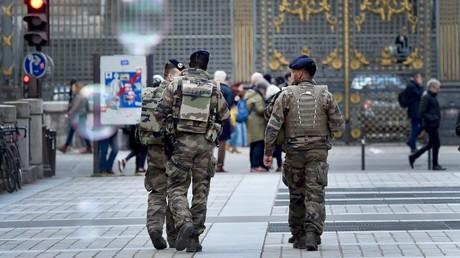 Des soldats de la force Sentinelle, ici à Paris en mars 2018 (image d'illustration).