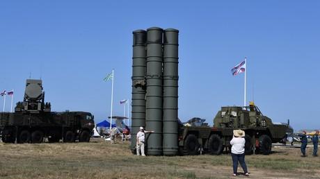 Le système antimissiles russe S-400 (image d'illustration).