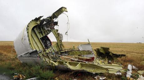 Débris du fuselage de l'avion MH17 (image d'illustration).
