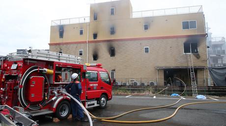 33 personnes tuées dans l'incendie d'un studio d'animation à Kyoto au Japon