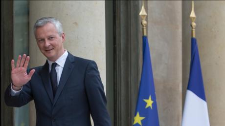 BrunoLeMairese félicite de l'accord du G7 pour taxer les activités numériques