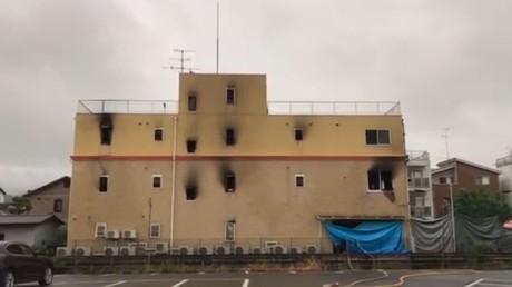 Japon : au moins 33 morts dans l'incendie d'un studio d'animation à Kyoto