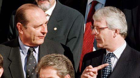 Le Royaume-Uni voyait Jacques Chirac comme un dirigeant «influençable» sur l'Europe et l'euro