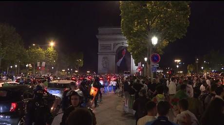 CAN 2019 : quelques tensions dans les rues de Paris après le succès de l'Algérie