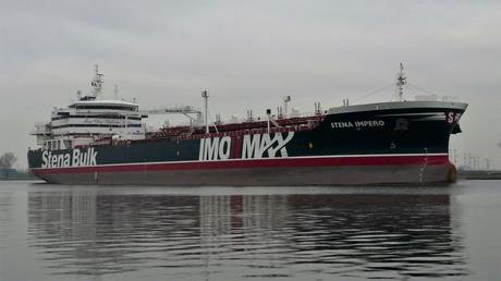 Le Stena Impero, au large d'Amsterdam, le 26 décembre 2018 (image d'illustration).