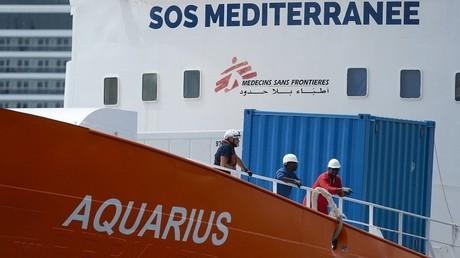L'Aquarius (image d'illustration).
