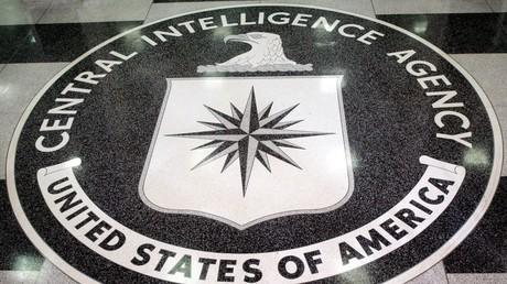 Le logo de la CIA au siège de l'agence de renseignement américaine (image d'illustration).