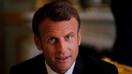 Emmanuel Macron le le 22 juillet 2019 à Paris (image d'illustration).