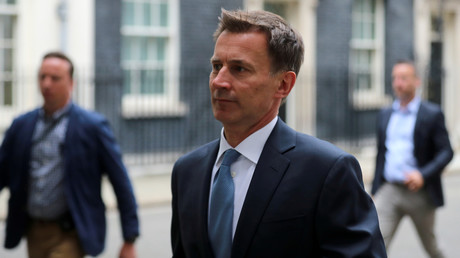 Le ministre britannique des Affaires étrangères Jeremy Hunt.