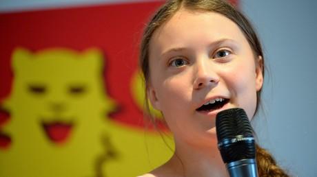 Greta Thunberg, ici en Normandie le 21 juillet 2019.
