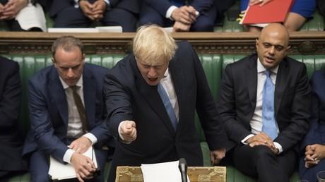 Le nouveau Premier ministre britannique Boris Johnson.