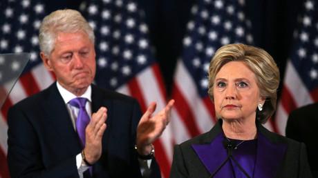 Bill et Hillary Clinton.