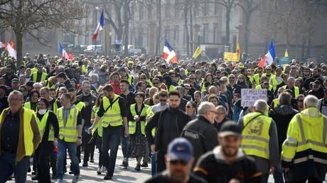 Manifestation des Gilets jaunes le 23 mars 2019 à Metz (Moselle) (image d'illustration)