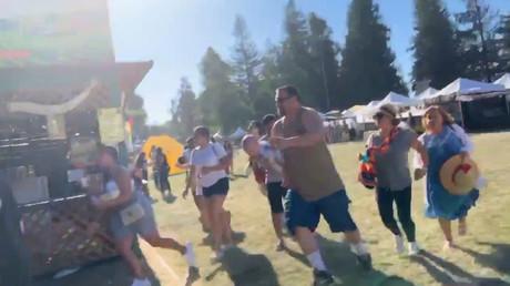 Etats-Unis : au moins trois morts et quinze blessés dans une fusillade lors d'un festival (IMAGES)