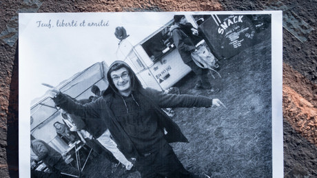 Une image du jeune homme disparu, Steve Maia Caniço.