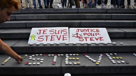 Un rassemblement à Bordeaux en mémoire de Steve Maia Caniço, le 30 juillet (image d'illustration).