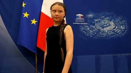 Greta Thunberg à l'Assemblée nationale le 23 juillet (image d'illustration).