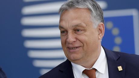Le Premier ministre hongrois, Viktor Orban, lors du sommet des dirigeants de l'Union européenne, le 2 juillet 2019, à Bruxelles (image d'illustration).