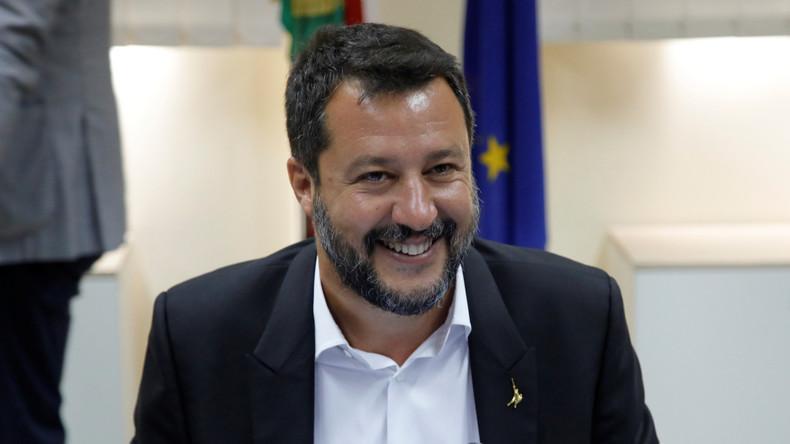Italie : Matteo Salvini réagit à la nouvelle coalition et lance un appel à manifester à Rome