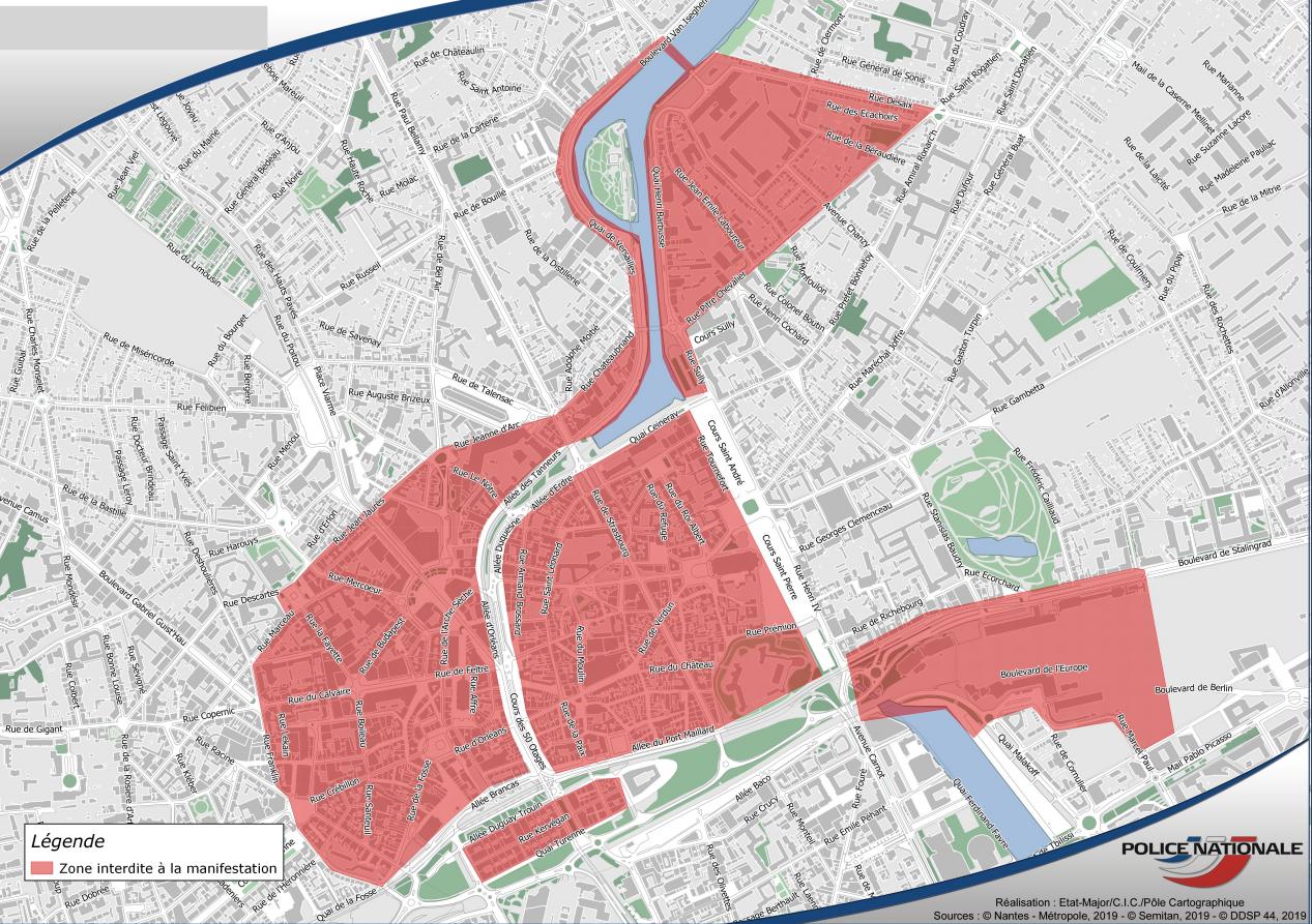 Steve : la préfecture craint les black blocs et interdit les manifestations dans le centre de Nantes