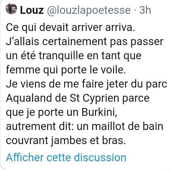 Burkini : une femme se plaint de s'être fait «jeter» d'Aqualand à Saint-Cyprien et crée la polémique
