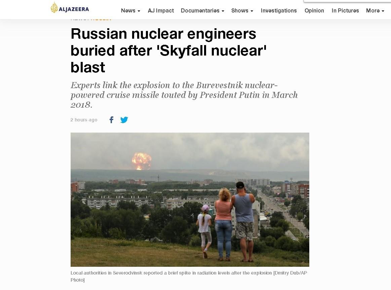 Explosion d'un missile dans une base russe du Grand Nord : que sait-on ?