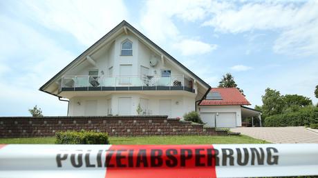 La maison de l'élu de la CDU Walter Lübcke, trouvé mort sur la terrasse de sa maison à Wolfhagen, dans la banlieue de Kassel, le 3 juin 2019 (image d'illustration).