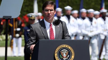 Le nouveau ministre de la Défense, Mark Esper, le 25 juillet 2019, à Arlington, en Virginie, aux Etats-Unis (image d'illustration).