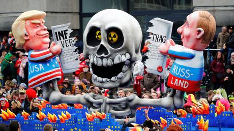 Au carnaval de Düsseldorf, en mars 2019 (image d'illustration).