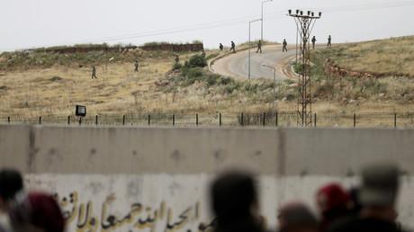 Un poste-frontière turc à la frontière avec la Syrie (image d'illustration).