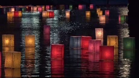 Japon : une cérémonie d'hommage spectaculaire en mémoire des victimes d'Hiroshima