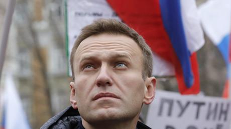 Alexeï Navalny à Moscou, en février 2019 (image d'illustration).