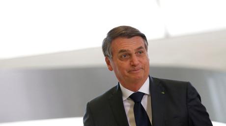 Jair Bolsonaro à Brasilia le 9 août 2019