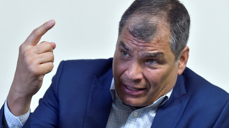 Equateur : la justice ordonne la détention préventive de l'ex-président Correa pour corruption