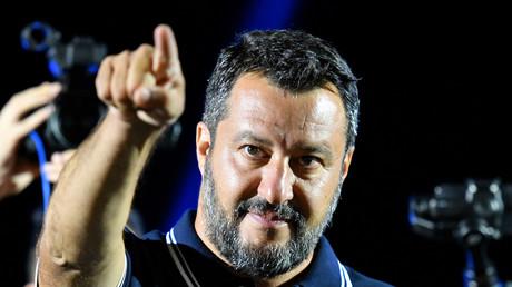 Matteo Salvini, ministre italien de l'Intérieur (image d'illustration).
