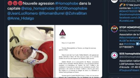 Condamné pour homosexualité en Tunisie, un militant LGBT se fait agresser en pleine rue à Paris
