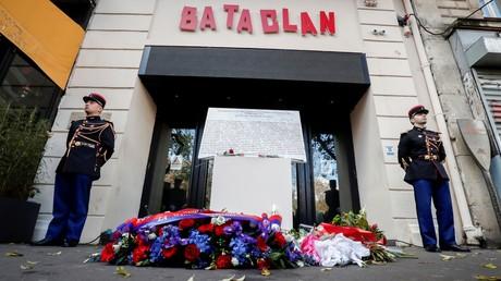 La devanture du Bataclan, le 13 novembre 2018, à Paris (image d'illustration).