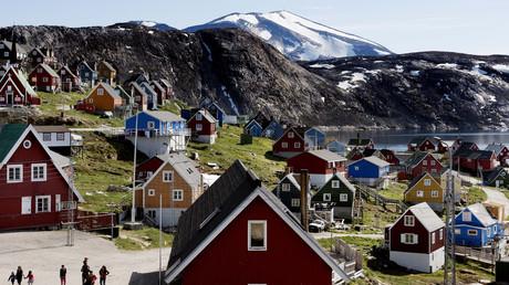 Le village d'Upernavik, le 11 juillet 2015, au Groenland (image d'illustration).