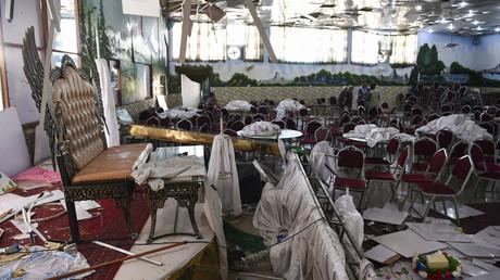 Afghanistan : un kamikaze de l'Etat islamique tue 63 personnes lors d'un mariage à Kaboul