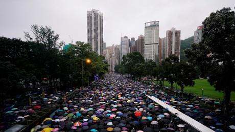 Hong Kong : plus grande manifestation depuis le début du mouvement de contestation