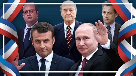 De Chirac à Macron, les relations entre Vladimir Poutine et les présidents français