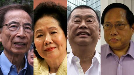 Hong Kong : la presse chinoise épingle les liens entre les Etats-Unis et le «gang des quatre»