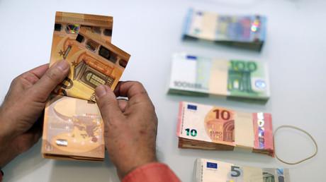 Billets de banque en euros (illustration).