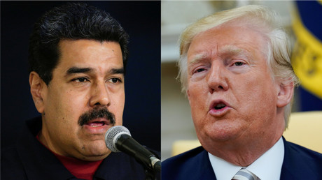 Nicolas Maduro et Donald Trump (photomontage d'illustration).