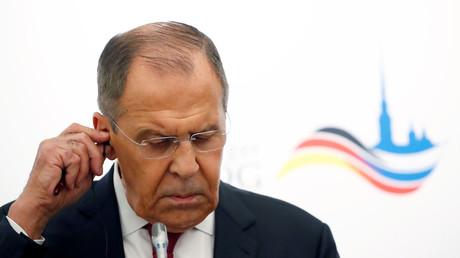 ministre russe des Affaires étrangères, Serguei Lavrov, le 18 juillet 2019.